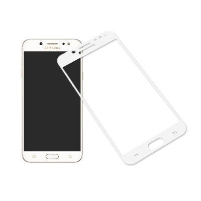Cooyee SAMSUNG Galaxy J7+ 滿版玻璃貼-全膠
