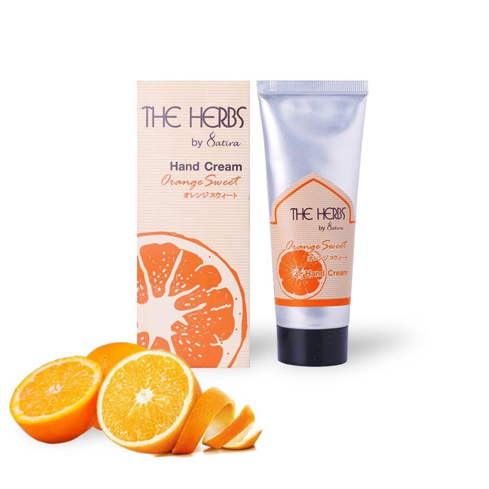 THE HERBS 天然草本護手霜-香橙75g