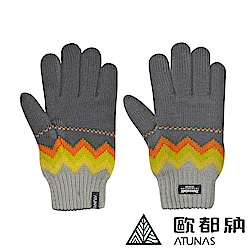 【ATUNAS 歐都納】3M保暖手套 冬季出遊/賞雪配件 A-A1234 灰