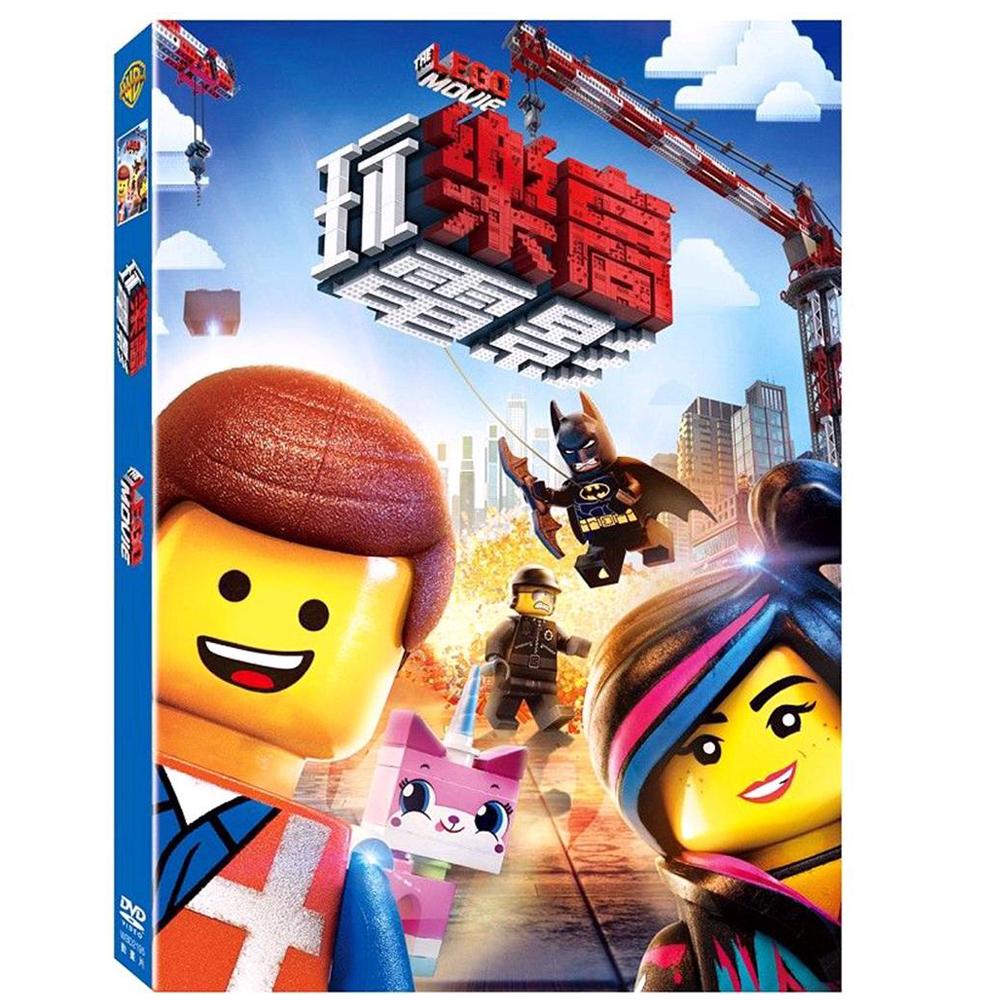 樂高玩電影 DVD