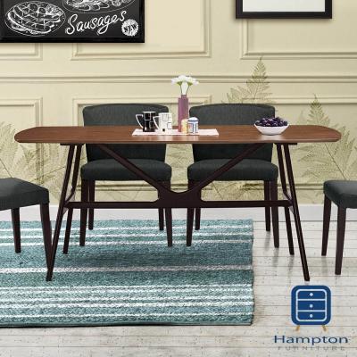漢妮Hampton華倫6尺餐桌-180x90x75cm