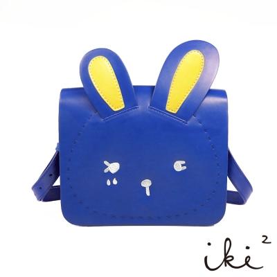 iki2童包-咕妮兔斜背包-藍