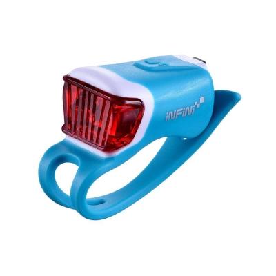 INFINI ORCA I-204R 鯨魚USB充電式紅光警示燈 藍