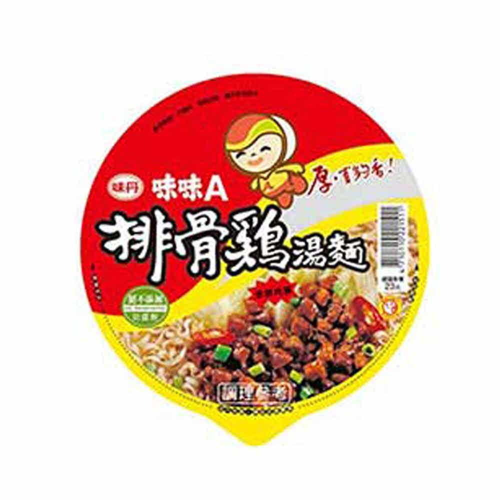 味味A 排骨雞麵(90gx12碗)