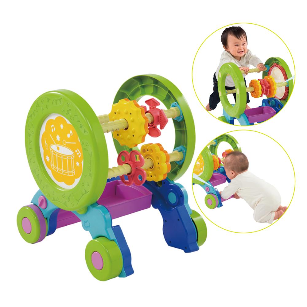 日本People-體能運動學步車(防止翻倒設計+速度調節功)