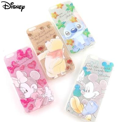 Disney迪士尼iPhone 6/6S(4.7吋)閃粉雙料保護殼-淡彩系列