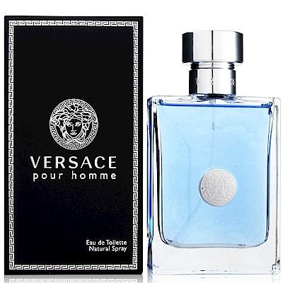 VERSACE凡賽斯 經典男性淡香水50ml+隨機針管香水一份