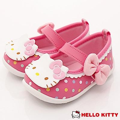 HelloKitty童鞋 輕巧娃娃鞋 SE18607 桃 (小童段)