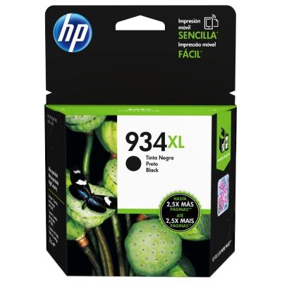 HP  NO.934XL 原廠黑色高容量墨水匣C2P23AA