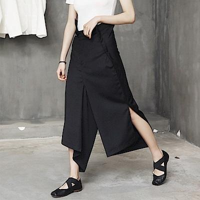不規則造型設計感七分褲裙-設計所在
