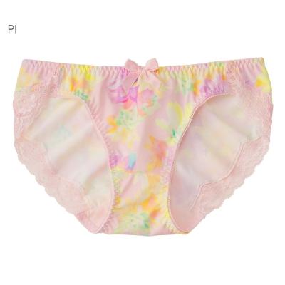 aimerfeel 水晶花卉無痕內褲-粉紅色