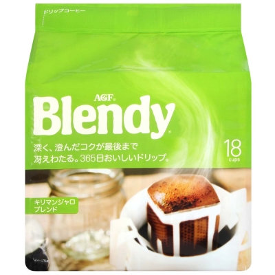 AGF Blendy濾泡式咖啡-吉力馬札羅(7gx18入)