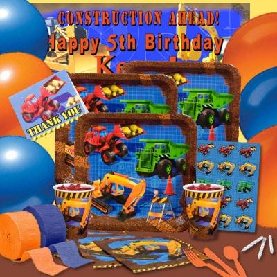 派對盒 PartyBox 生日派對懶人包 卡車總動員主題 8人基本派對盒