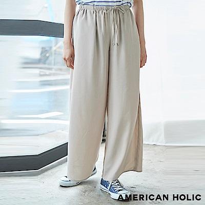 AMERICAN HOLIC 鬆緊綁帶舒適寬褲