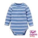 mamaway媽媽餵 Baby橫紋小高領包屁衣(共4色)