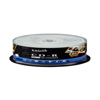 E-books 國際版 52X CD-R 10片桶