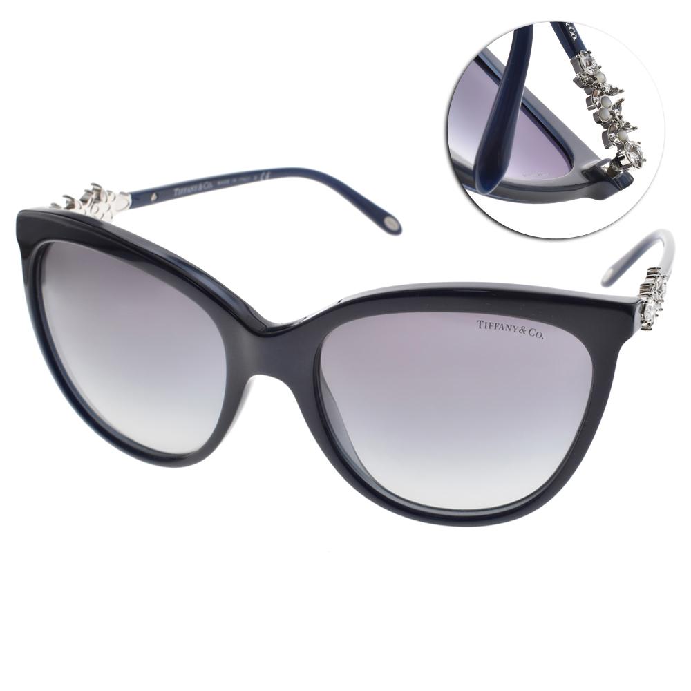 Tiffany&CO.太陽眼鏡 璀璨之光/深藍#TF4131HB 81913C