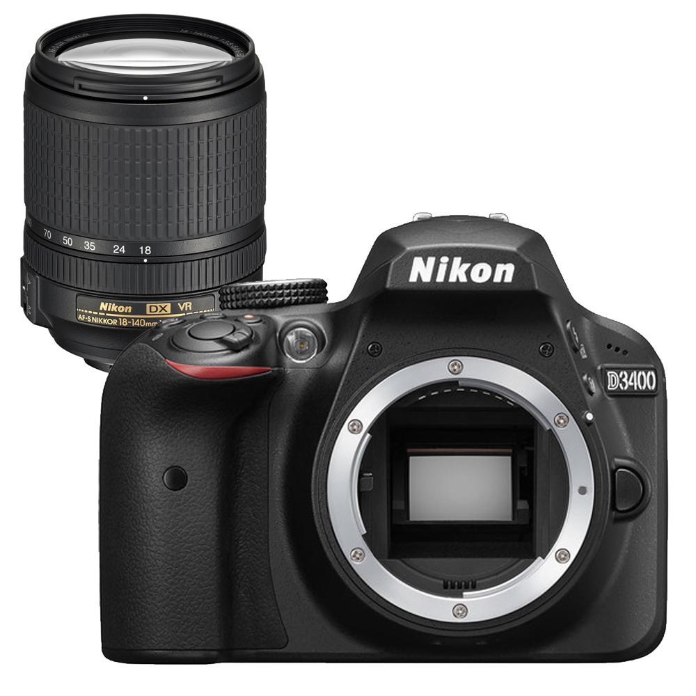 Nikon  D3400+18-140mm VR單鏡組(平輸中文)