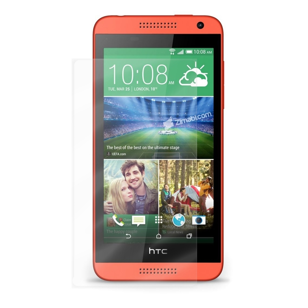 D&A HTC Desire 610專用日本頂級HC螢幕保護貼(鏡面抗刮)