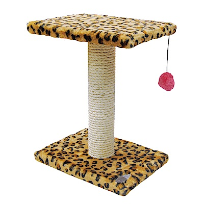 派斯威特-跳台世家貓跳台 雙層跳板+麻繩球