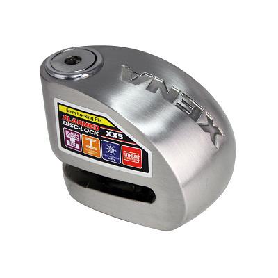 XENA-XX5SS-不鏽鋼警報碟剎機車鎖-快