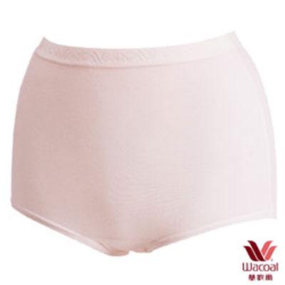 #【華歌爾】新伴蒂內褲M-3L高腰三角款(淺粉紅)