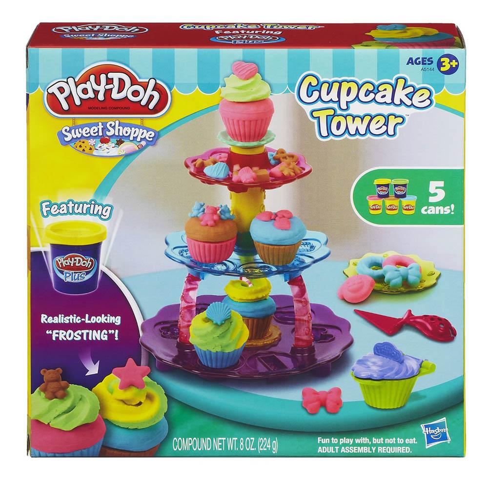 培樂多Play-Doh 創意DIY黏土杯子蛋糕遊戲組 A5144