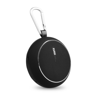 MiFa F1 繽紛馬卡龍隨身藍芽MP3喇叭-經典黑