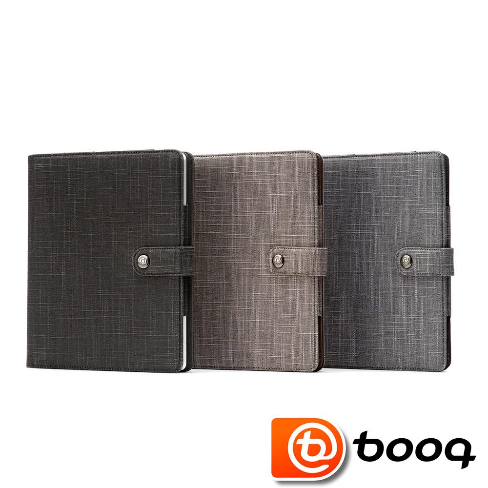 Booq Booqpad New iPad agenda 天然麻記事本保護套