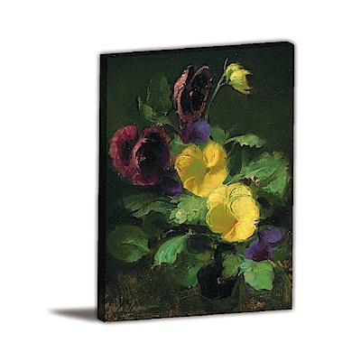 24mama掛畫-單聯式直幅 掛畫無框畫 森林之美 30x40cm