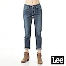 Lee 牛仔褲401中腰標準小直筒-女款-淺藍