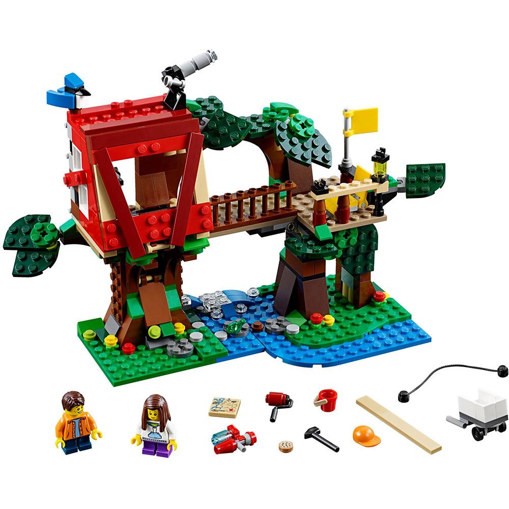 LEGO樂高 3合1創作系列 31053 樹屋冒險