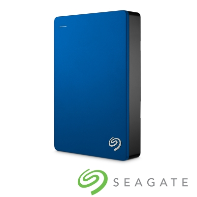 Seagate Backup Plus 5TB USB3.0 2.5吋行動硬碟-藍色