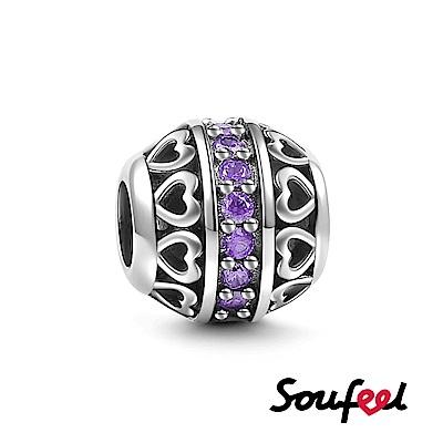 SOUFEEL索菲爾 925純銀珠飾 生日石 六月 串珠