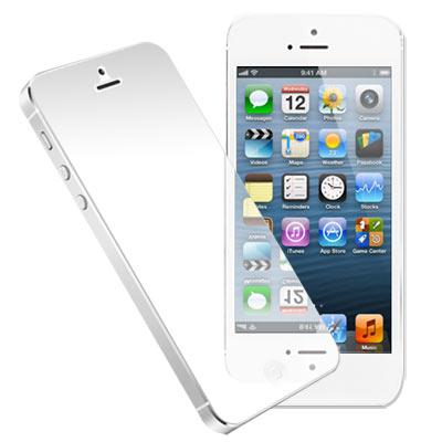 iPhone5/5S/SE 高亮度鏡射螢幕保護貼 螢幕貼(一入)