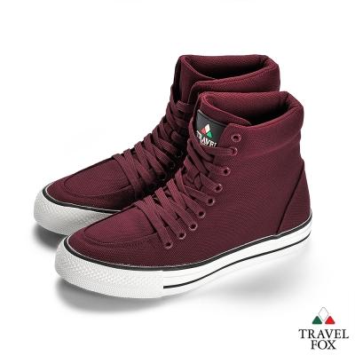 TRAVEL FOX(女)  Classic 900 Hi 高筒帆布休閒鞋