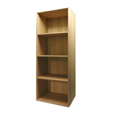 悅家居 空間大師四格置物櫃-40x29x106cm