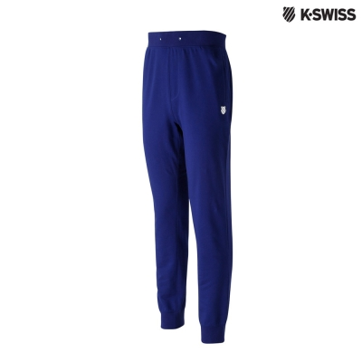 K-Swiss Basic Sweatpants休閒長褲-男-藍