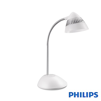 飛利浦 PHILIPS LIGHTING CAP 酷昊LED檯燈-白 70023
