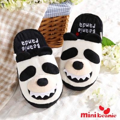 Mini Beanie-Beanie Panda 胖達毛絨室內拖鞋-Panda熊貓