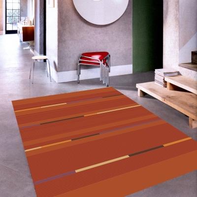 范登伯格 - 席琳 進口地毯 - 剪影 (橘)  (大款 - 160x230cm)