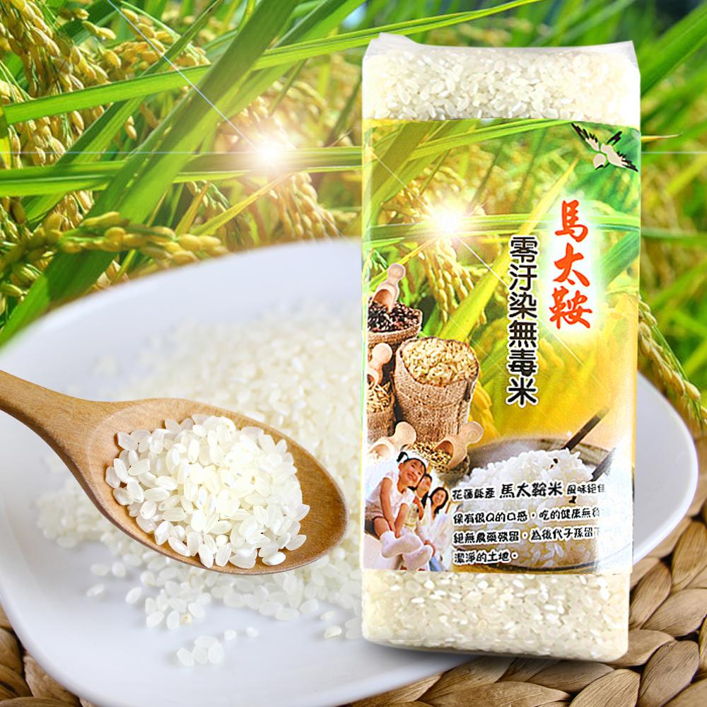 善耕嚴選 馬太鞍無毒米-白米(1000g/2包)
