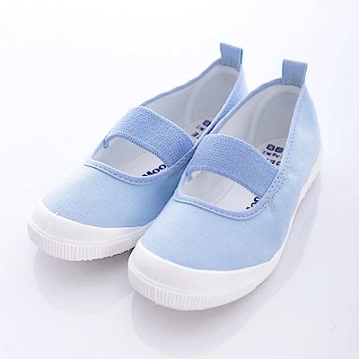 日本Carrot機能童鞋-日本製抗菌室內鞋-S1951藍(中小童段)HN