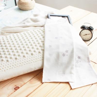 鴻宇HongYew 美國棉授權 防蹣抗菌標準型乳膠枕2入
