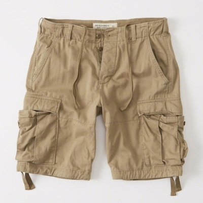 AF a&f Abercrombie & Fitch 短褲 卡其 008