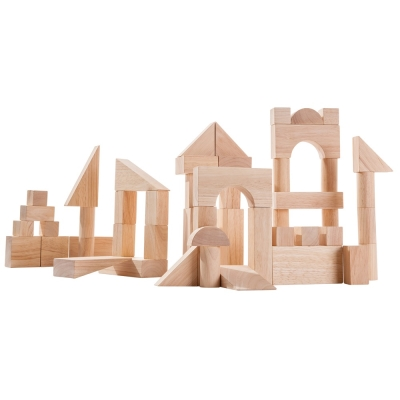 GMP BABY PLANTOYS 原木積木組 (50塊入)-1個