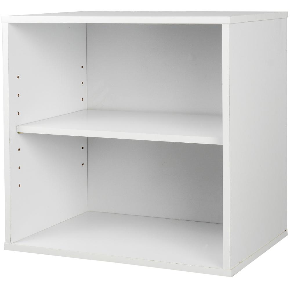EASY HOME 魔術方塊開放收納櫃-雲朵白
