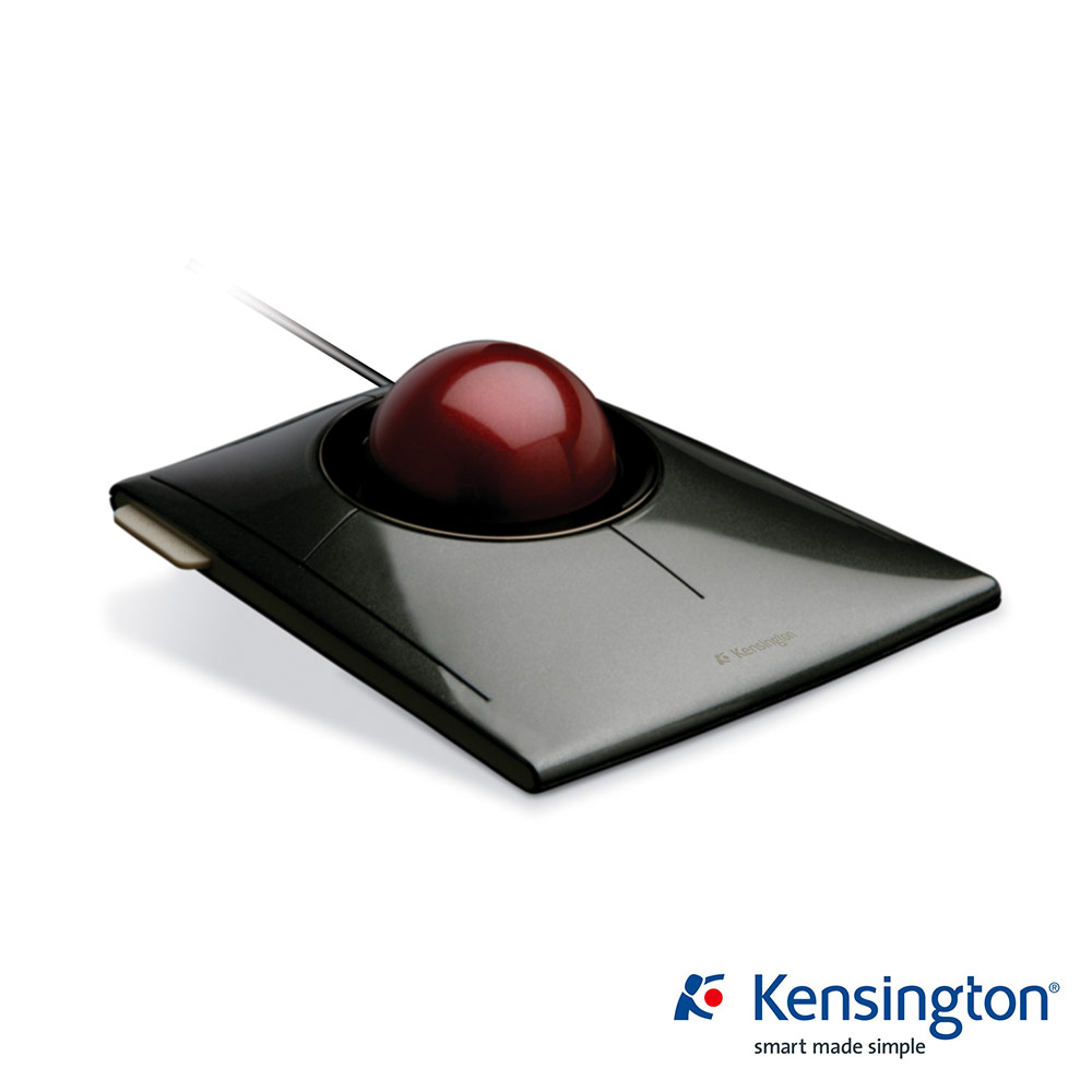 Kensington SlimBlade 時尚多媒體軌跡球滑鼠