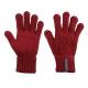 【ATUNAS 歐都納】女款保暖手套 A-A1402W 暗紅 product thumbnail 1