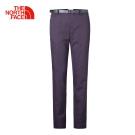 The North Face北面女款深紫色防水透氣休閒長褲